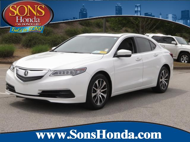 Pre Owned 2016 Acura Tlx 4dr Car In Mcdonough P6947 Sons Honda