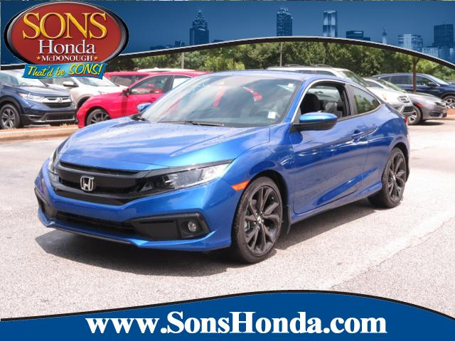 New 2019 Honda Civic Coupe Sport FWD 2dr Car