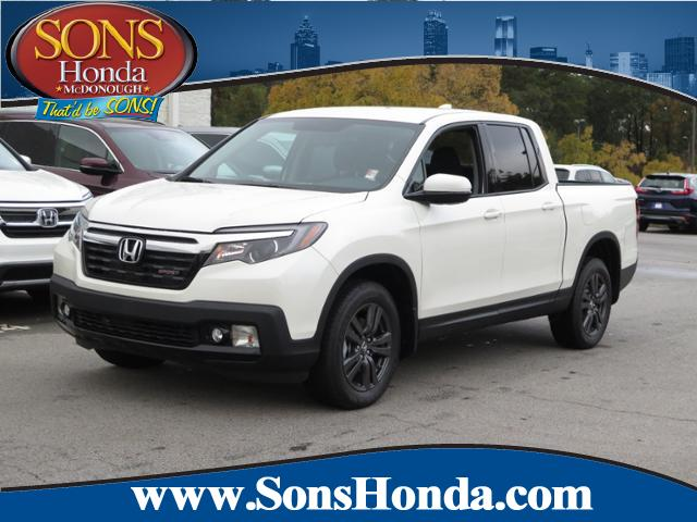 New 2018 Honda Ridgeline Sport Crew Cab Pickup In Mcdonough 22433