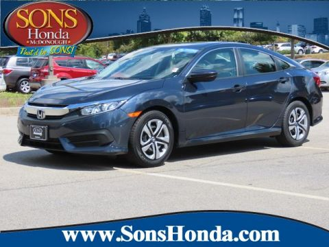 Pre-Owned 2017 Honda Civic Sedan LX Front Wheel Drive LX CVT