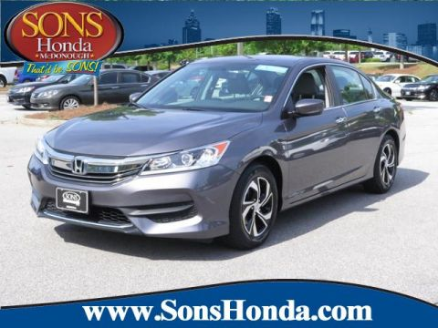 Certified Pre-Owned 2016 Honda Accord Sedan LX FWD 4dr Car