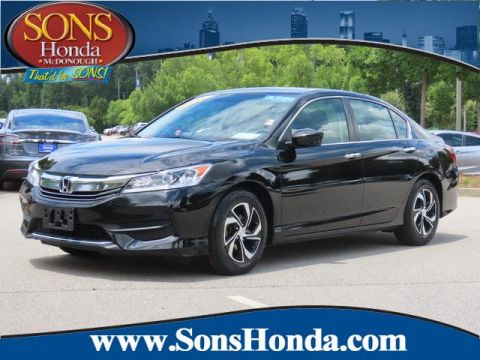 Certified Pre-Owned 2017 Honda Accord Sedan LX Front Wheel Drive