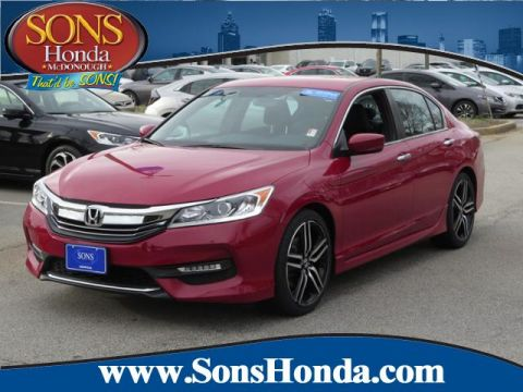 Certified Pre-Owned 2016 Honda Accord Sedan Sport FWD 4dr Car