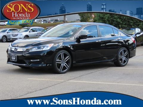 Certified Pre-Owned 2017 Honda Accord Sedan Sport Front Wheel Drive Sport CVT