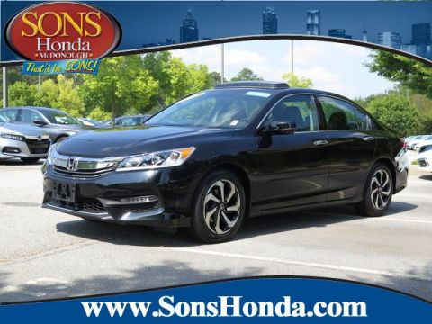 Certified Pre-Owned 2016 Honda Accord Sedan EX-L Front Wheel Drive 4dr V6 Auto EX-L