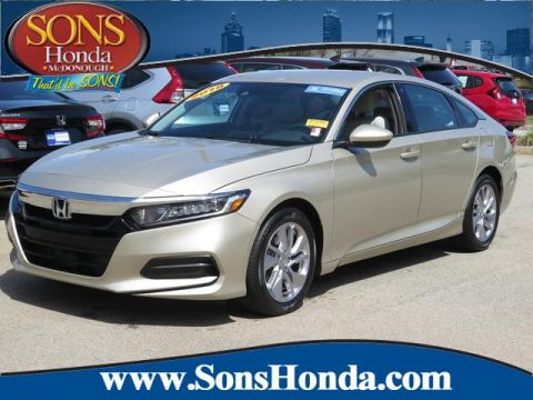 Certified Pre-Owned 2018 Honda Accord Sedan LX 1.5T Front Wheel Drive