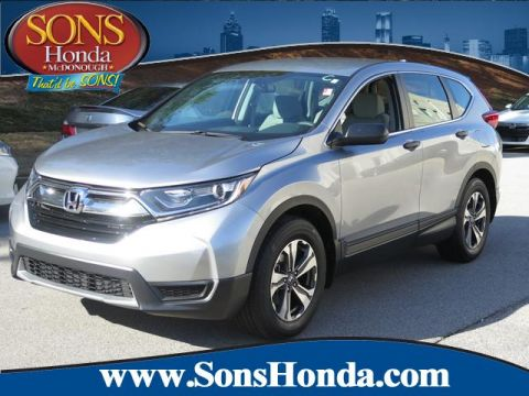Certified Pre-Owned 2018 Honda CR-V LX