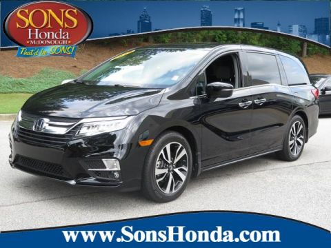 Certified Pre-Owned 2019 Honda Odyssey Elite Front Wheel Drive