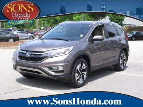 Pre-Owned 2016 Honda CR-V Touring FWD Sport Utility
