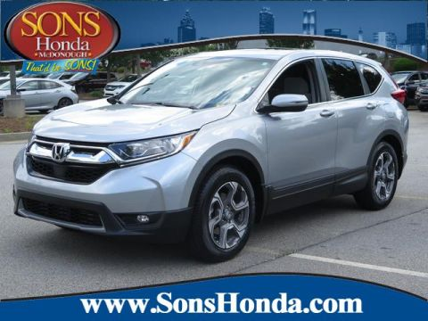 Certified Pre-Owned 2018 Honda CR-V EX Front Wheel Drive
